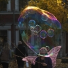 Riesen-Seifenblasen Wien