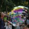 Riesenseifenblasen Show