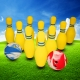 Eventspiel mieten Bowling