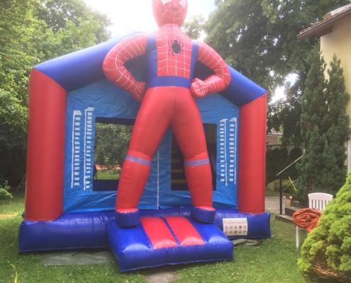 Hüpfburg Spiderman