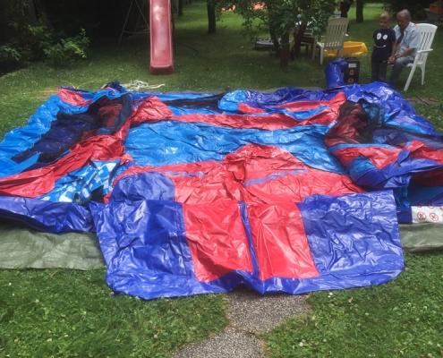 Anleitung Hüpfburg Spiderman