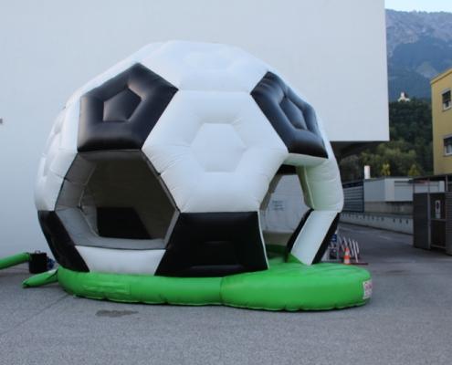 Hüpfburg Fussball