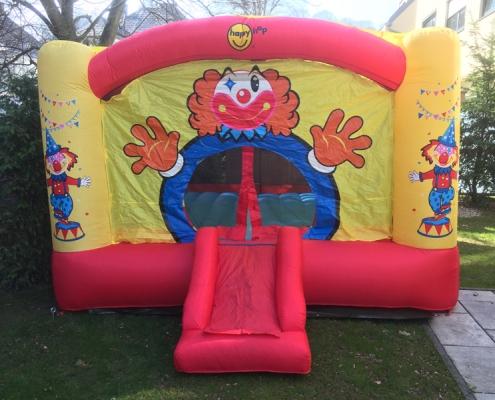 Hüpfburg Clown mieten