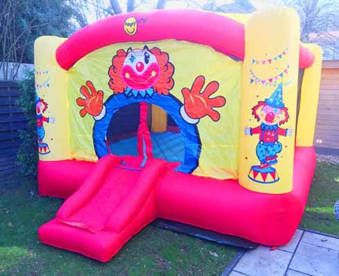 Hüpfburg Clown Kleinkinder
