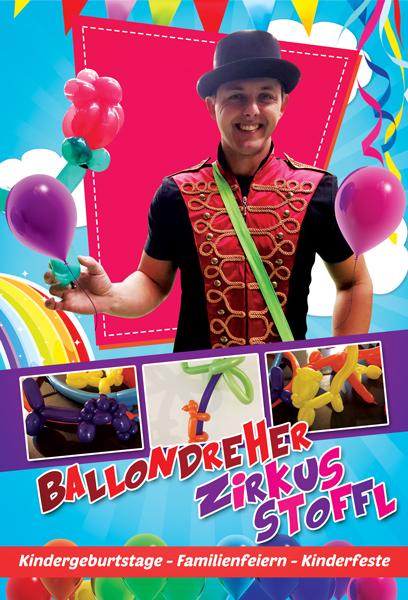 Ballondreher ZirkusStoffl