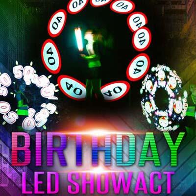 LED Show Geburtstag