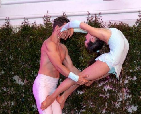 Duo Akrobatik Show