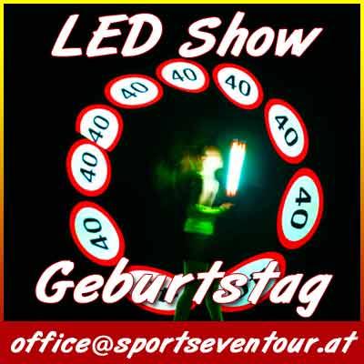 LED Geburtstagsshow