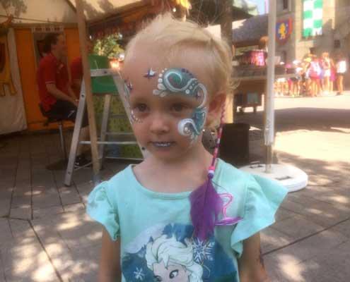 Kinderschminken Wien