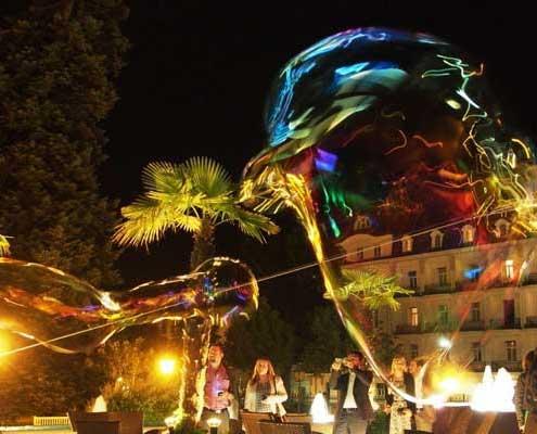 Seifenblasen Show Wien