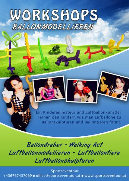 Workshop Luftballonmodellieren