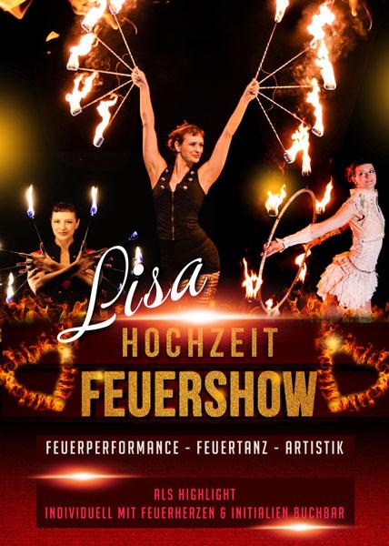 Feuershow Lisa