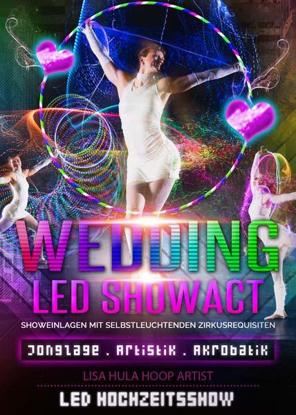 LED Show Lisa Geburtstag