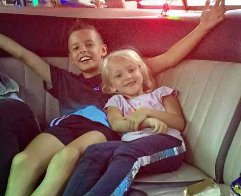 Limousine mieten Kindergeburtstag