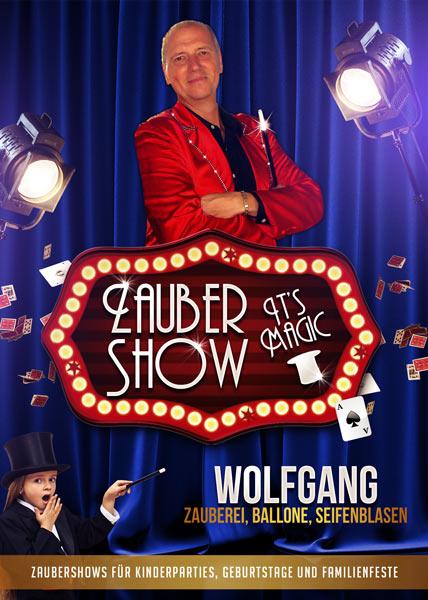 Zauberer Kindergeburtstag Wolfgang