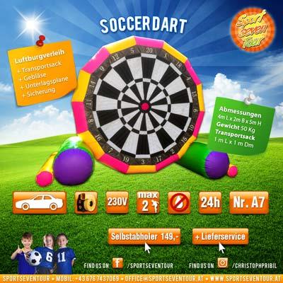 Soccer Dart mieten