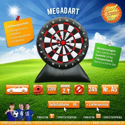 Mega Darts Riesendart