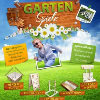 Gartenspiele Hochzeitsspiele mieten