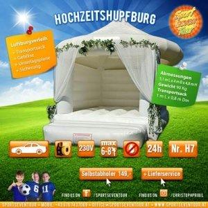 Hüpfburg Hochzeit