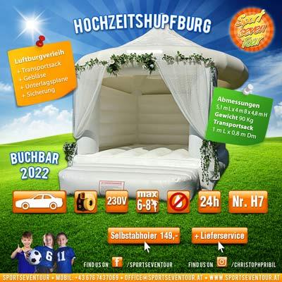 Hochzeit Hüpfburg mieten