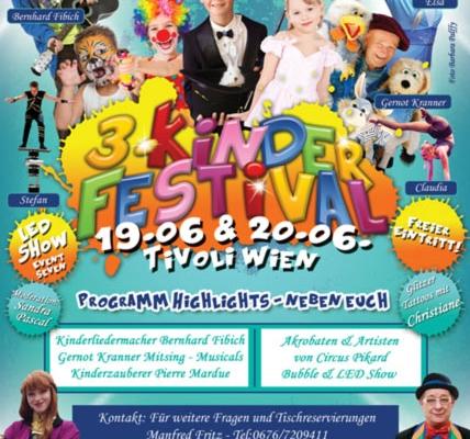 Böhmischer Prater 3. Kinderfestival