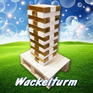 Hochzeitsspiel Wackelturm