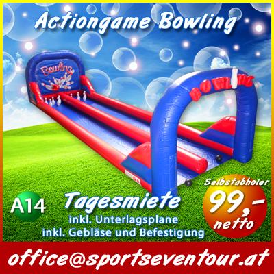Mobile Bowlingbahn