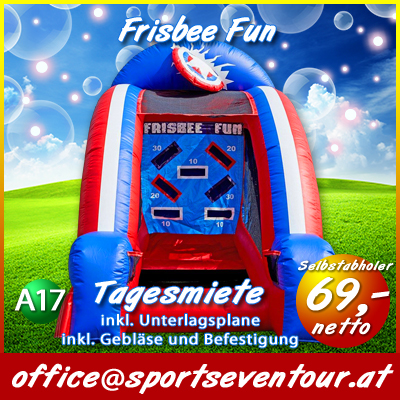 Frisbee Fun mieten