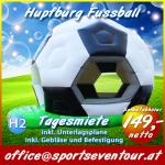Hupfburg Fussball Hüpfburg Verleih
