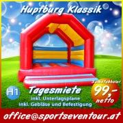 Hupfburg Klassik Hüpfburg Verleih Luftburg