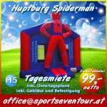 Hüpfburg Spiderman Hupfburg Verleih