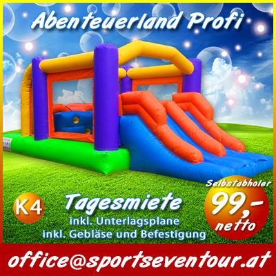 Hüpfburg Abenteuerland pro