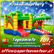 Multiplay Hupfburg Krokodil