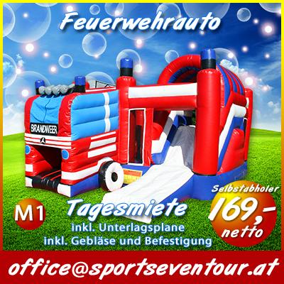 Hupfburg Feuerwehrauto
