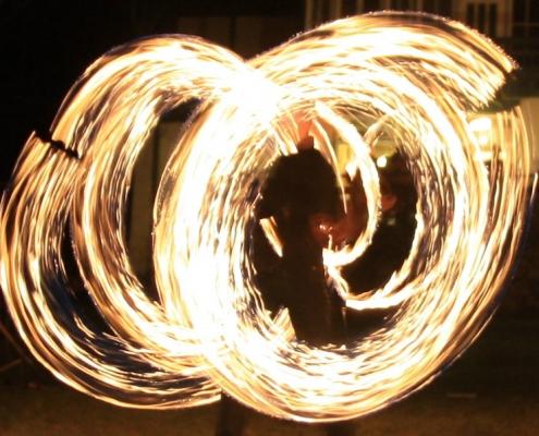 Feuershow Hochzeit Wien