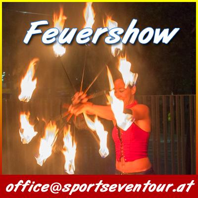 Feuershow Wien buchen