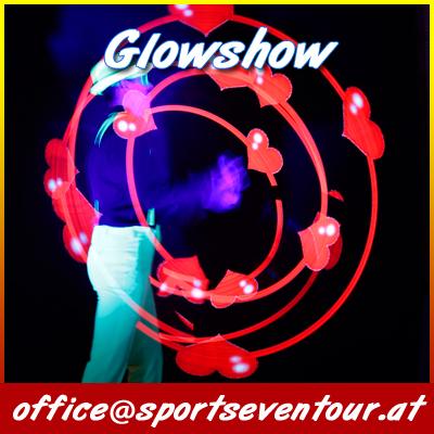 Glowshow Hochzeit