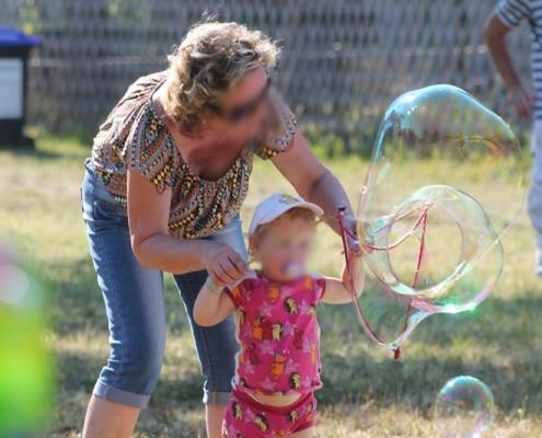 Riesenseifenblasen Wien