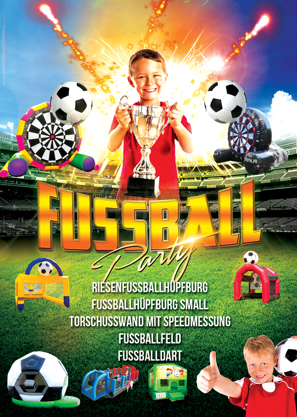Fußballparty
