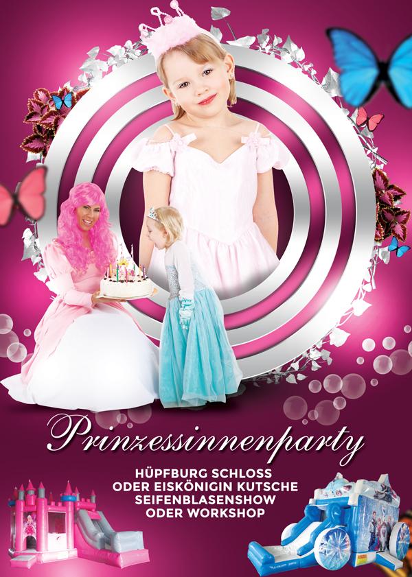 Prinzessinnenparty Kindergeburtstag