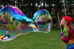 Kindergeburtstag Seifenblasen