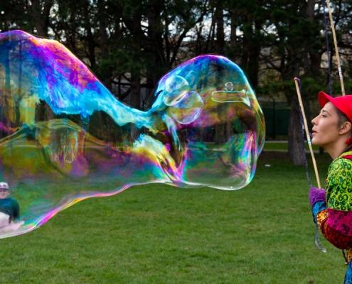 Riesenseifenblasen