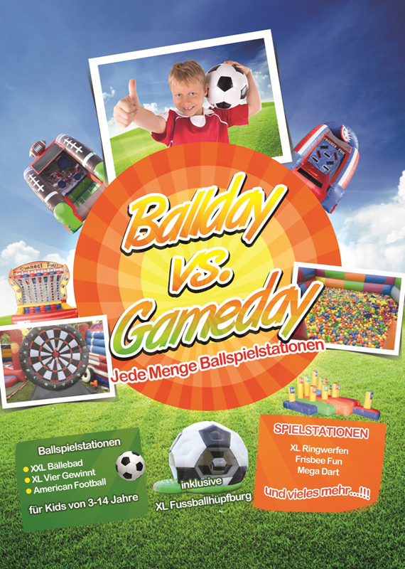Ballday Gameday Eventkonzept
